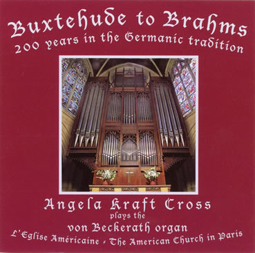 CD Buxtehude to Brahms