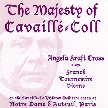 CD Majesty of Cavaillé-Coll
