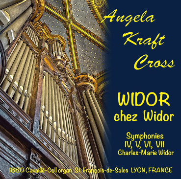 WIDOR chez Widor album art